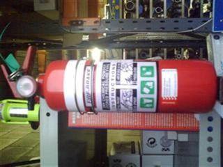 Fire Extinguisher 1.5kg - Dry Powder