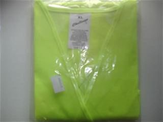 Safety Vest (poly) Lime/yellow  Xl