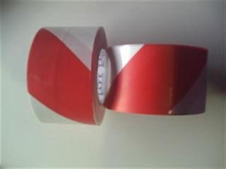Tape Barricade (red/white) (50mm X 100m)