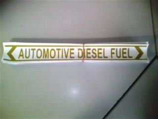Pipeline Marker - Automotive Diesel Fuel