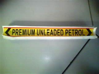 Pipeline Marker - P U L P  (410x60mm)