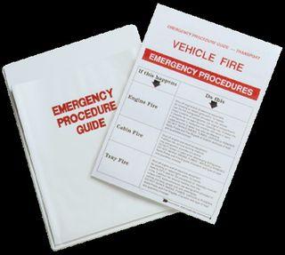 Emergency Procedure Guide Holder