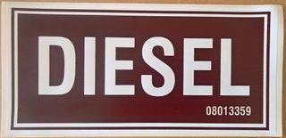 Sign - Diesel - S/a (300x150)mm