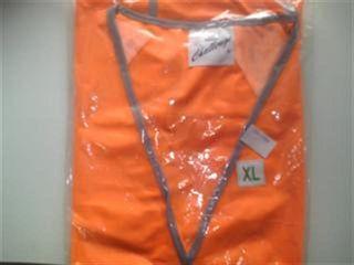 Safety Vest Orange Reflective Exl