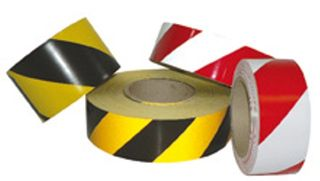 Tape Reflective (red/white)(50mm X 100m)