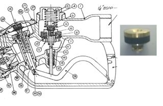 Lower Disk Sub-assembly - 1an-32