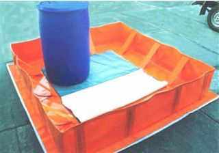 Collapsible Bund (pvc Or Xr-5) 1100 L