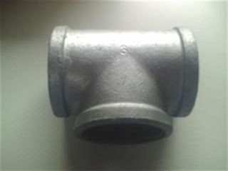 "Tee 3"" (80mm) - Galvanised"