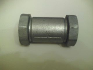 """Compr. Coupling - Long 3/4"""" (20mm) Galv."""