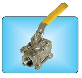 Ball Valve  F F  (3in 80mm) 3 Piece