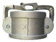 Camlok Cap Lockable Arms 100mm - Al