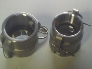 "Camlock D - Coupler (3/4"" - 19mm) (s/s)"