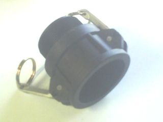 "Camlock B - Coupler 1"" 25mm Poly"