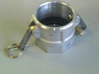"""Camlock D - Coupler (1.5"""" - 38mm) - Al"""