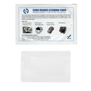 Card Reader Cleaning Cards (50 Pack)