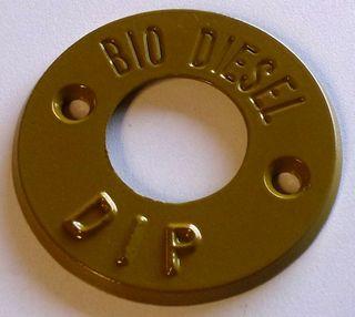Dip Marker - Bio Diesel (tan) - Metal