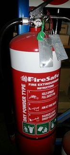 Fire Extinguisher 9kg - Dry Powder