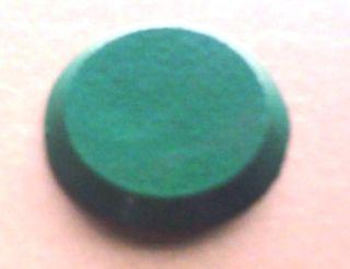 Tank Id Disk (green) - Blank (metal)
