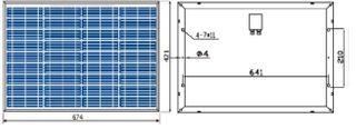 Poly Solar Panel 30w