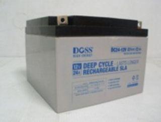 Deep Cycle Battery (12v/26ah)