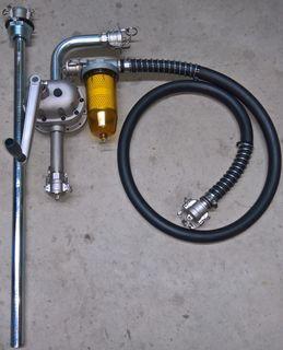 Aviation Fuel Transfer Pump Kit (100l/m)