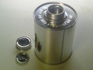 Micro Drum (4 L) (steel) Seal + Cap