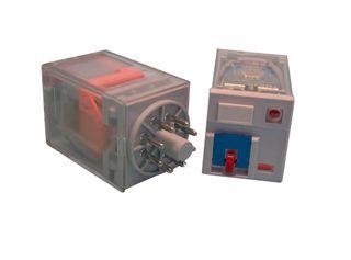 TMK2 Round 8 pin relays with test button