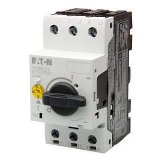 Motor protective circuit breakers