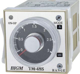 Plug in multi range timing relays