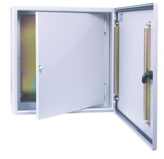 Mild and Stainless steel wall mounted encl access