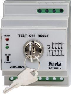 Emergency lighting test kit