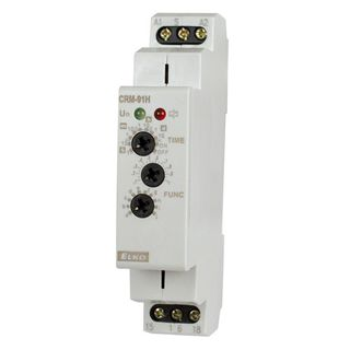 Timing Relay Multi range 0.1s-10d 12-240VAC 1x C/O