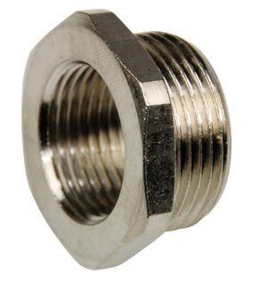 Reducer 32mm - 25mm Nickel plated brass
