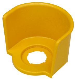 Emergency Stop Guard Ring Shroud Yellow