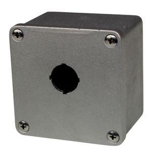 Pushbutton Enclosure Die Cast Aluminium 1 Hole 90m