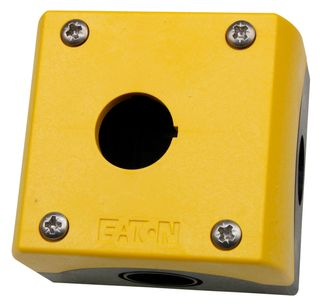 Enclosure for Pushbuttons 1 Hole Yellow