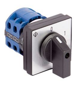 Cam Switch E type 2Pole 20A Auto/Manual  Pan Mnt