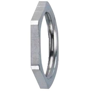 Locknut 32mm Nickel Plated