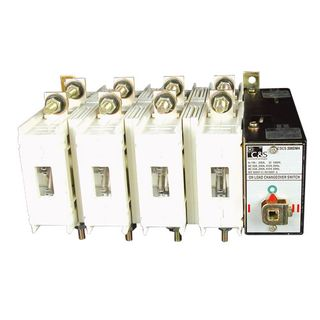 Changeover Switch Manual type 315A 4 Pole