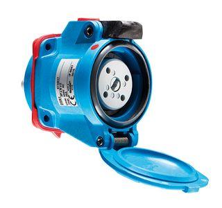 Socket Poly DSN1 20A 380-440V 3P+E Outlet