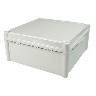 Enclosure Poly Grey  Body - Screw lid 200x200x130