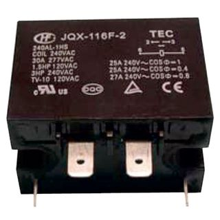 RELAY 240VAC 30A SPST
