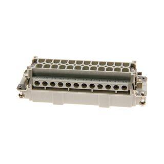 Socket Inserts 24P+E 16A Male Socket Out No 25-48