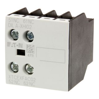 Auxiliary contacts suits standard frame Contactors
