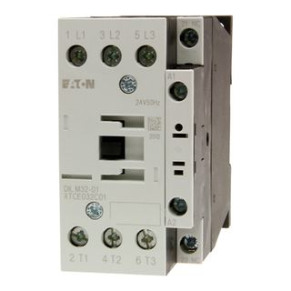 Contactor Eaton 15kW 24VAC 1 N/C