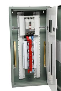 Distribution Board 24 Pole Grey 400A Main Switch