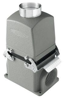 Multi Pole Conn Alum 24P+E 16A Horizontal Flush