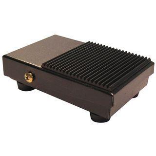 Mini Foot Switch 240V 10A Alum C/W Anti SlIP Top
