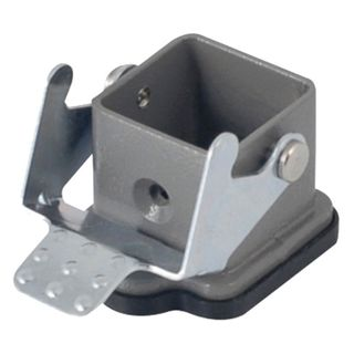 Housing 3/4 pole Aluminium Male Cover 2 Pins
