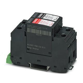 Surge Arrestor 50kA - Replaceable Plug Alarm Cont